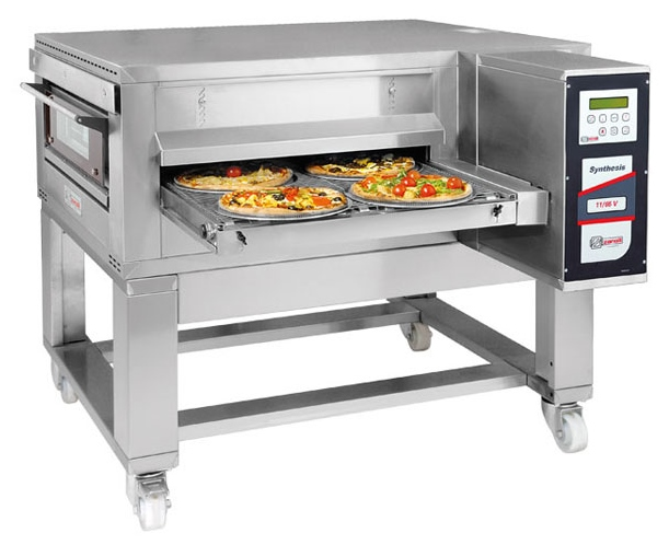 Double Deck Convection Oven Zanolli Synthesis 12/80 V Conveyor Pizza Oven – 32″/80cm ...