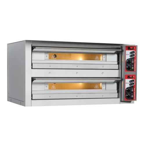 Zanolli Citizen 6+6 F double deck Pizza oven
