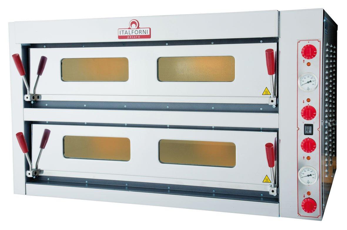 Electric Pizza Oven ~ Italforni double deck electric pizza oven tkc