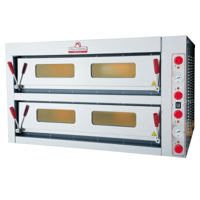 Italforni double deck electric pizza oven 6 + 6 TKB2