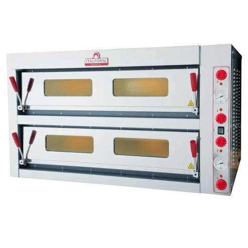 Italforni double deck electric pizza oven 6 + 6 TKB2