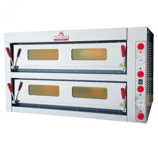 Italforni double deck electric pizza oven 9 + 9 TKC-2