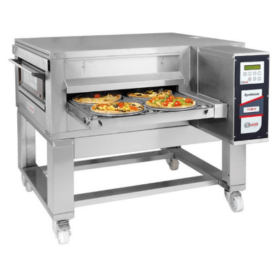 Italian 26 inch gas conveyor pizza oven