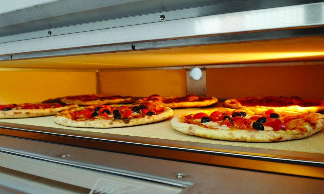 Great pizza in a Zanolli deck ovens