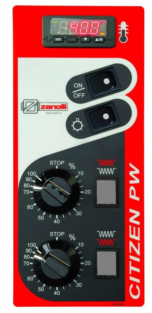 Zanolli Citizen 6 F Electric single deck oven