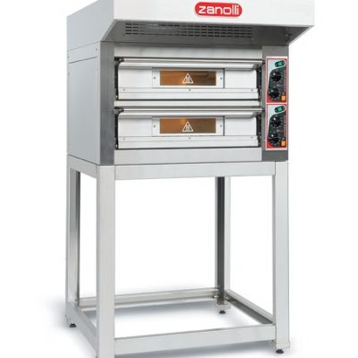 Zanolli double deck pizza oven EP 70/2