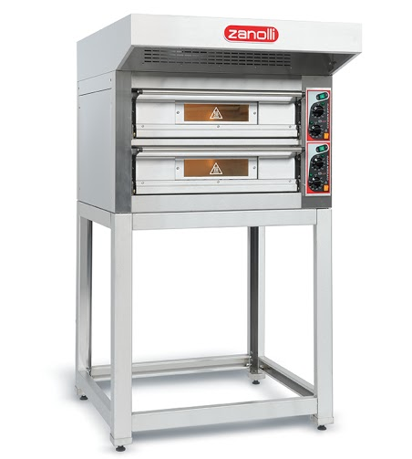 Zanolli double deck pizza oven EP 70/2