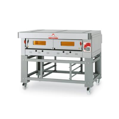 Italforni Heavy duty single deck gas pizza oven EGC-1