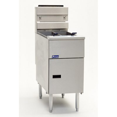 Pitco Twin Tank Solstice Gas Fryer SG14TS