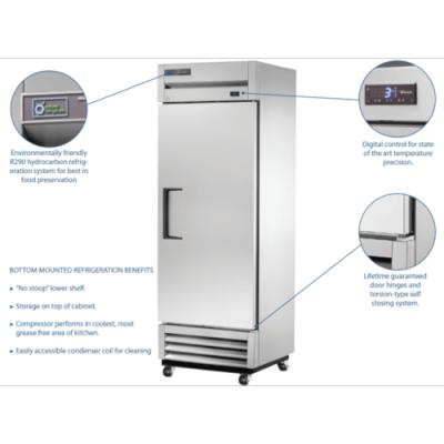 True upright fridge T-19-HC