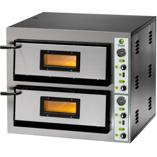 Fimar 6 + 6 pizza oven double deck
