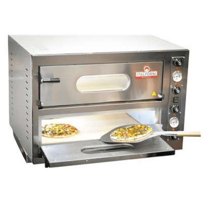 Italforni EK44 Twin deck electric pizza oven