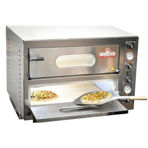 Italforni EK44 Twin deck electric pizza oven