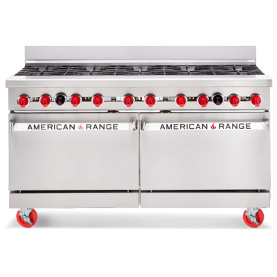 American Range AR10 – 10 Burner Range