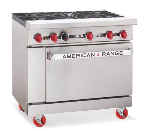 American Range AR5 - 5 Burner Range