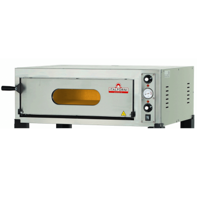 Single deck electric Italian pizza oven