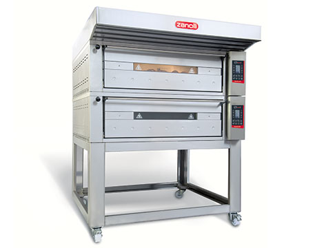 Zanolli TEOREMA electric oven used to make pizza, bread and pastry making