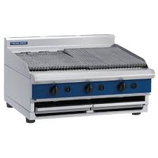 Blue Seal Bench Model Gas Chargrill 900mm G596-B