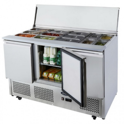 Atosa ICE3850GR 3 door prep counter OUT OF STOCK