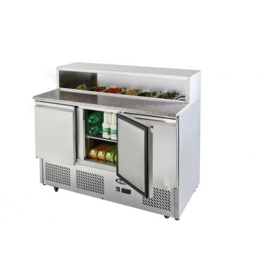 Atosa ICE3858GR 3 door prep counter