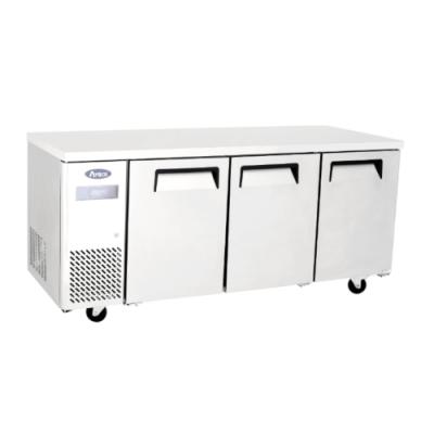 Atosa YPF 9042 3 door bench fridge