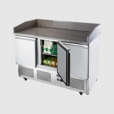 Atosa ICE-A-COOL ICE3852GR 3 Door pizza counter