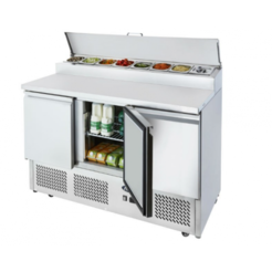Atosa ICE-A-COOL ICE3853GR 3 door prep counter