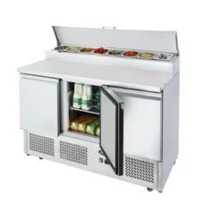 Atosa ICE-A-COOL ICE3853GR 3 door prep counter
