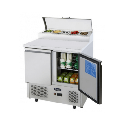 Atosa Ice-a-cool ICE3832GR 2 door prep counter