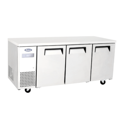 Atosa YPF9047 3 Door freezer counter