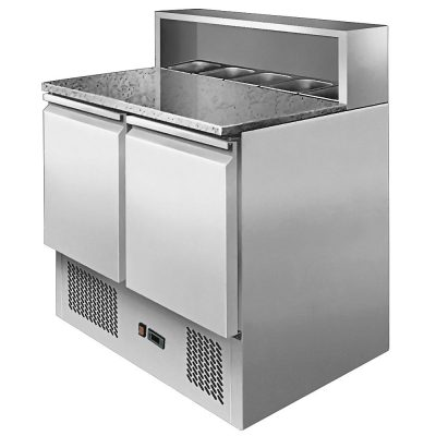 Atosa ice-a-cool ICE3831GR 2 door prep counter