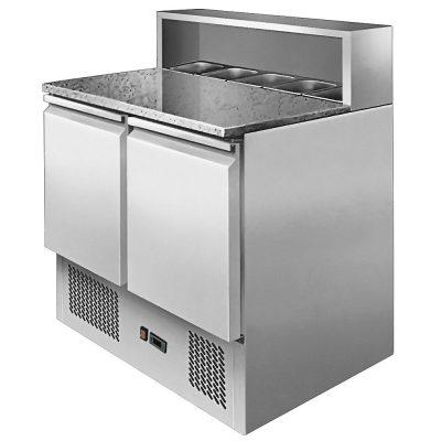 Atosa ice-a-cool ICE3831GR 2 door prep counter