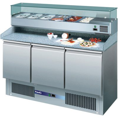 Prodis EC-3PIZZA pizza prep counter