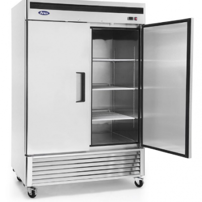 Atosa MBF8183 Bottom Mounted Double Door Freezer