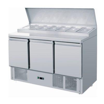 Atosa ICE3869GR 3 Door prep counter