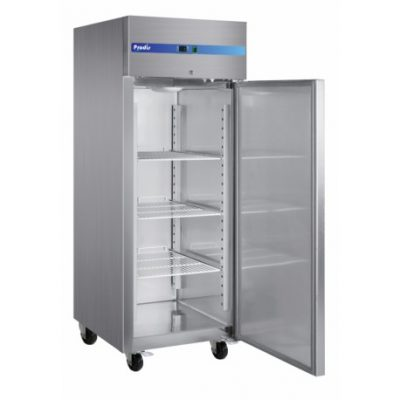 tall stainless steel fridge