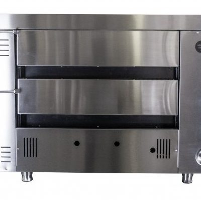 Kebab King double deck gas pizza oven
