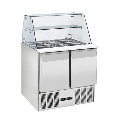 Blizzard BPD2-ECO 2 Door display prep fridge