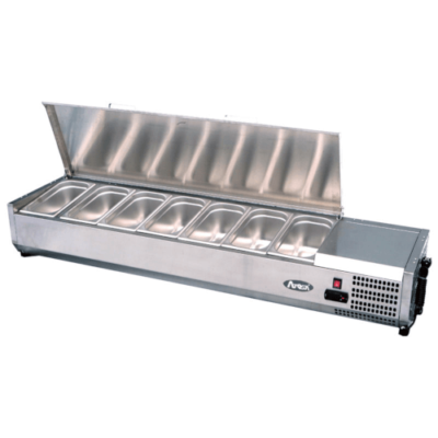 Atosa toppings unit VRX 1200380S stainless steel lid