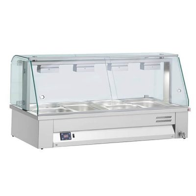 Inomak MBV67 Counter Top Bain Marie 2x GN1/1