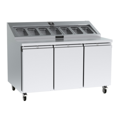 Precision PPC307 3 Door Prep Counter