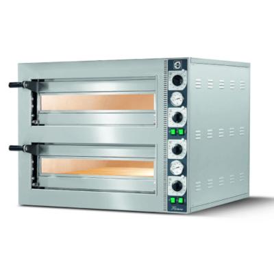 Cuppone Tiziano LLKTZ6202S Double deck pizza oven