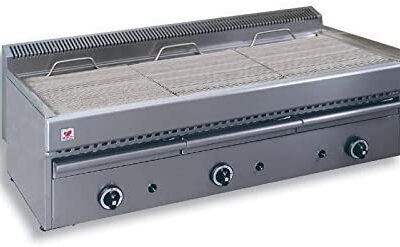 NORTH T30 char grill with water tray