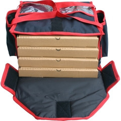 """Cater Bags Heated delivery bag T4LP 4 x 17"""""""