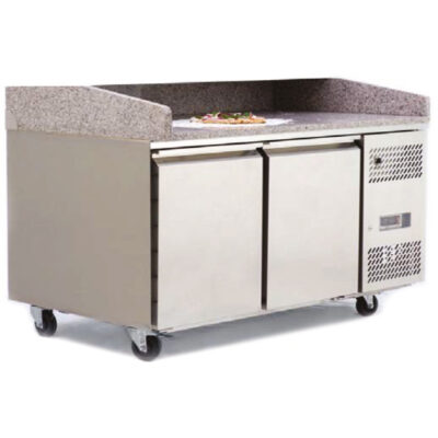 Atosa Double Door Pizza Counter Fridge EPF3495GR