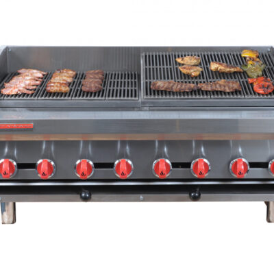 "AMERICAN RANGE ADJ48 48"" HEAVY DUTY HEIGHT ADJUSTABLE GAS ""RADIANT CHARGRILL"""
