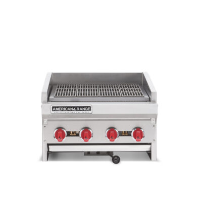 "AMERICAN RANGE ADJ36 36"" HEAVY DUTY GAS ""RADIANT CHARGRILL"""