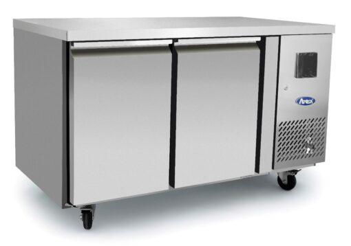 Atosa EPF3462HD 2 Door bench freezer