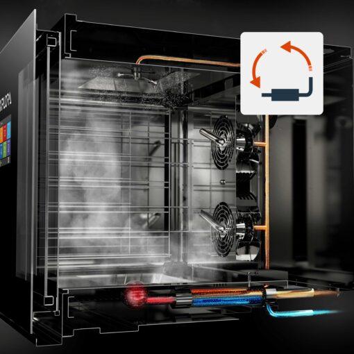 Piron EXPLORA COLOMBO KT Slim 10 x 1/1 gn combi oven PF1530